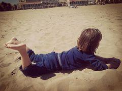 Un día en la playa...