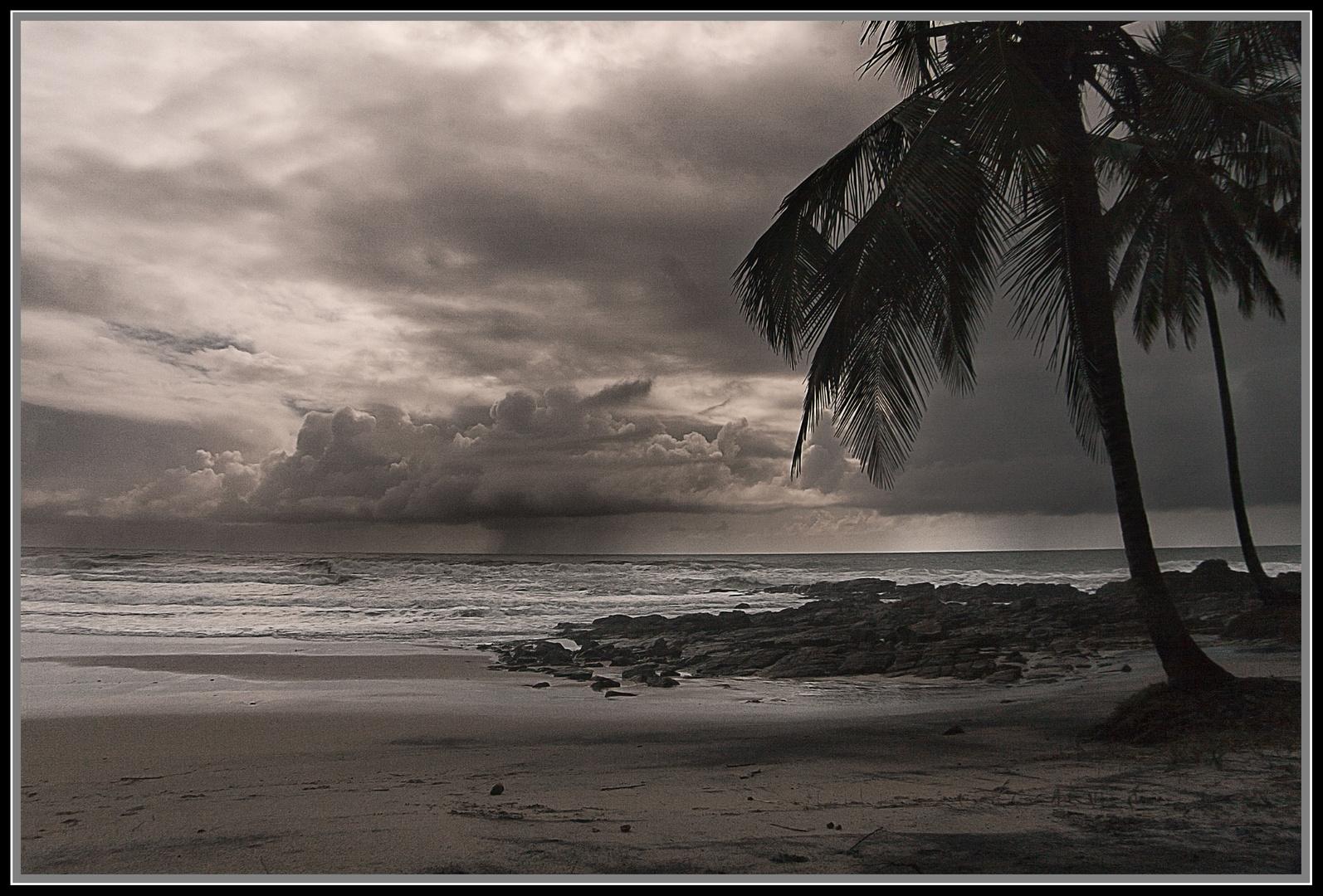 un día sin playa