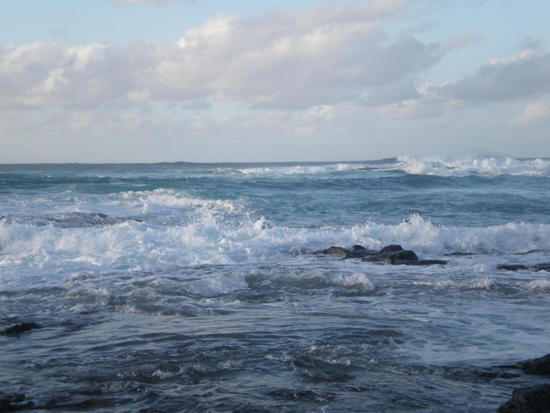 Un dia soleado en el mar