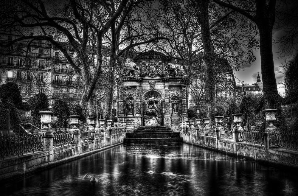 Un estanque en París...