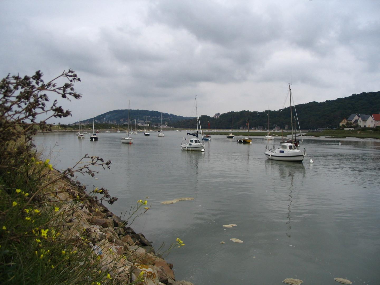 Un estuaire sur la côte normande