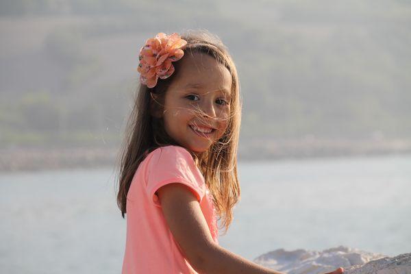 Un fiore al mare