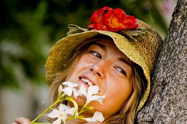 Un fiore tra i fiori