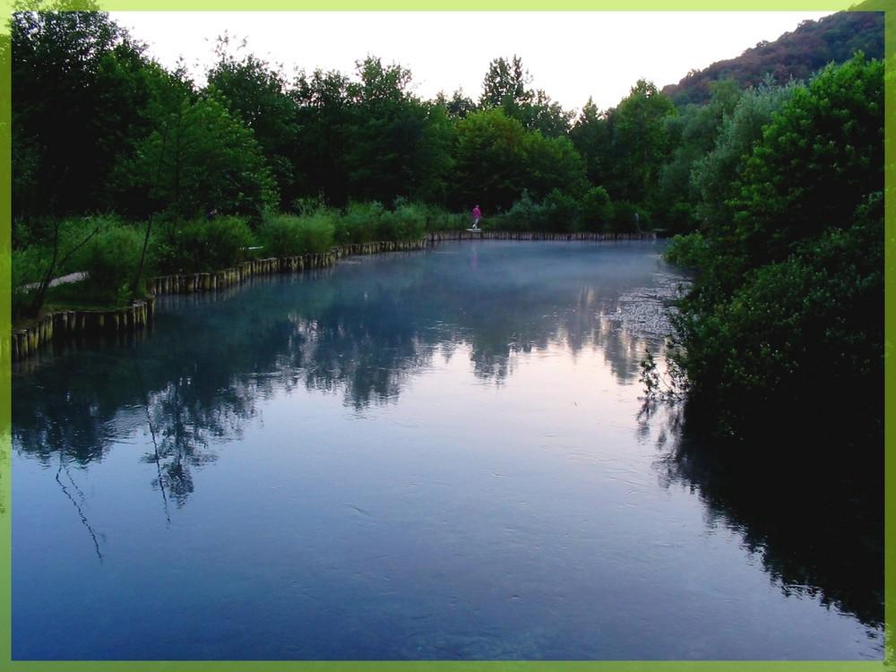 Un fiume appena nato