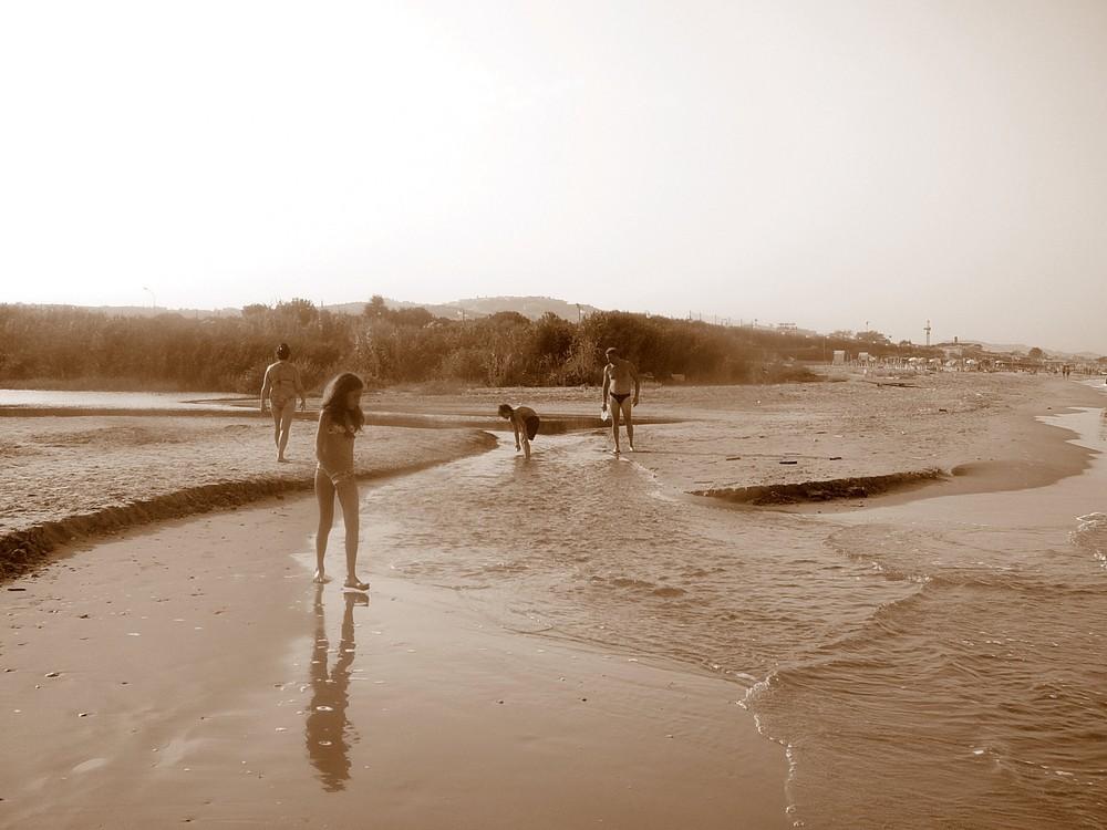 un fiume incontra il mare