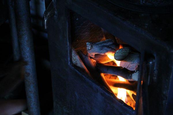 """Un fuoco """"freddo""""."""