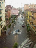 Un giorno di pioggia ...