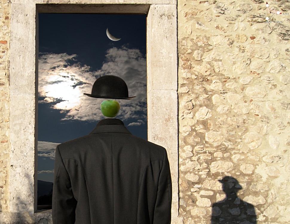 un hombre & un'ombra