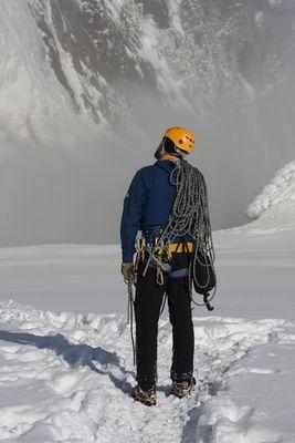 Un homme et la Montagne