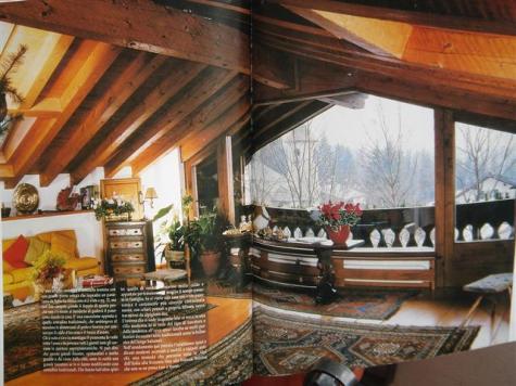 Un interno di un Cottage