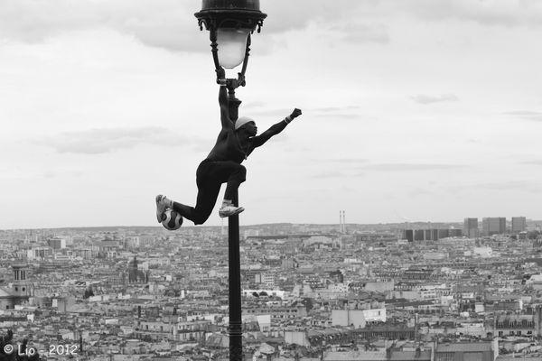 Un Jongleur à Montmartre