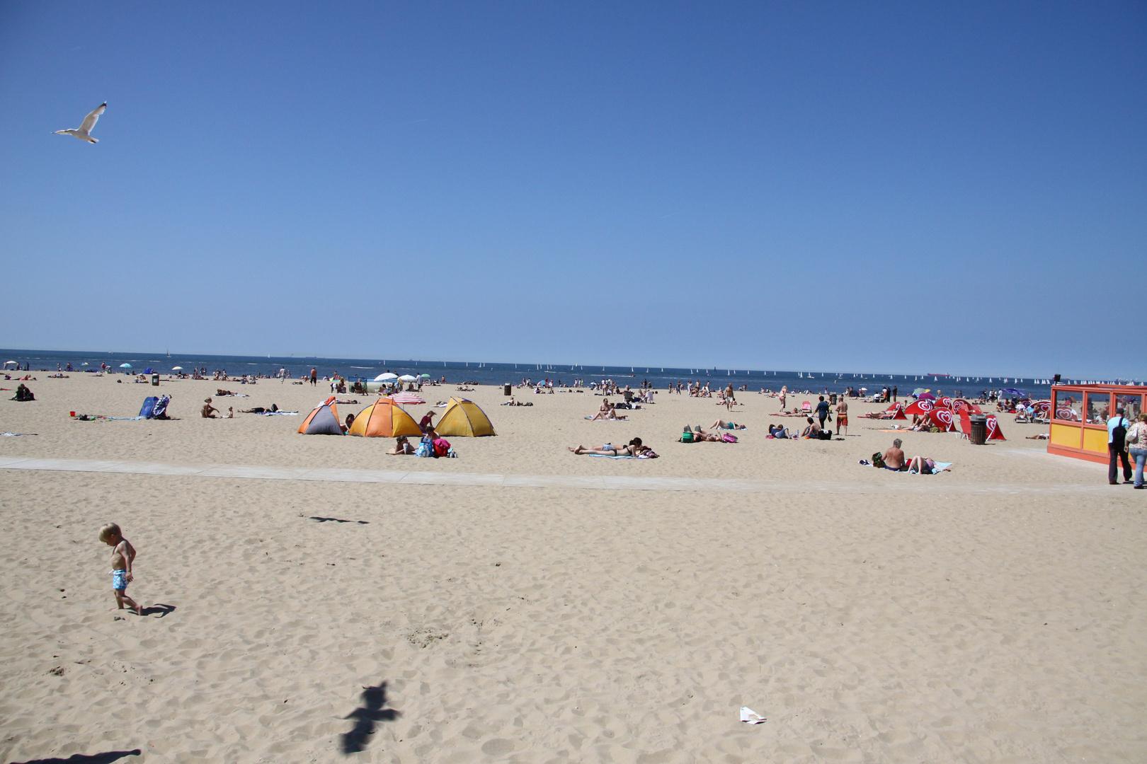 Un jour à la plage...