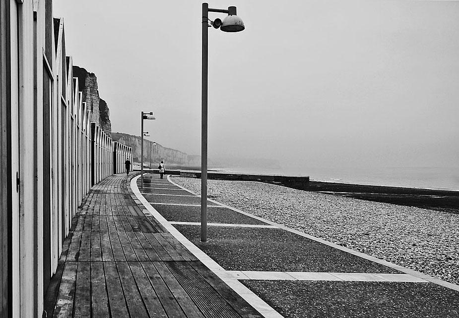 Un jour de pluie et de brouillard