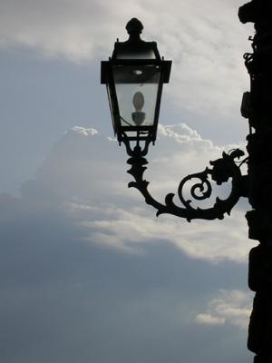 un lampione