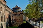 Un lato del Castello