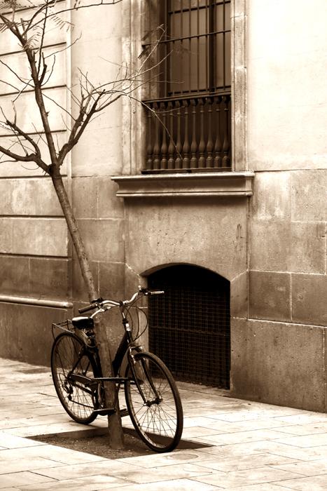 un lugar clasico para la bici