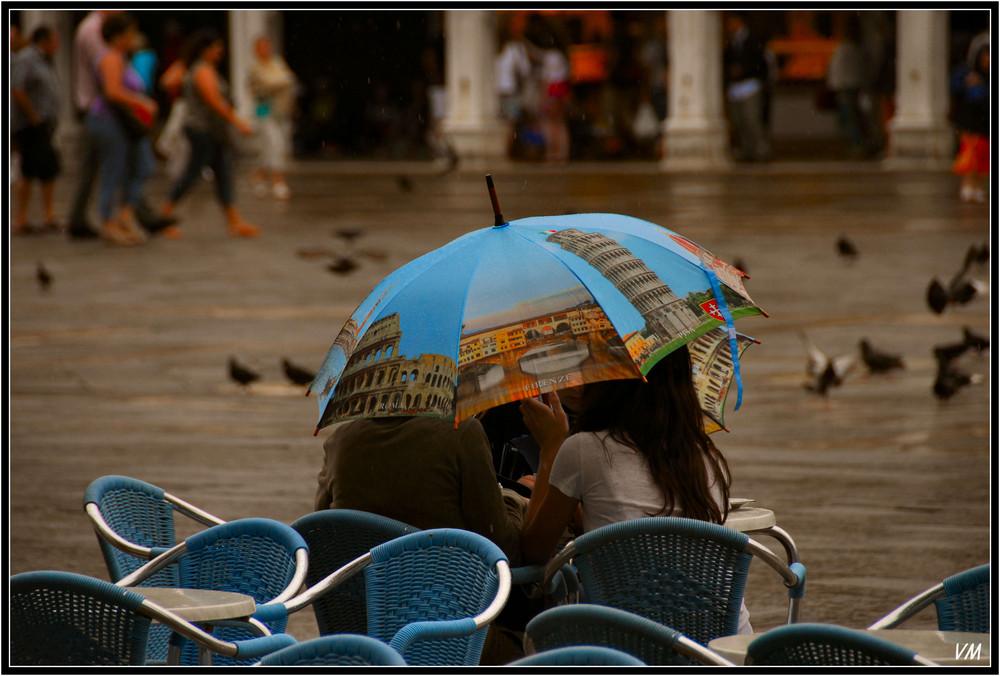 Un Mardi à Venise sous la pluie...