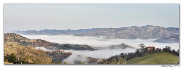 Un Mare di Nebbia ....