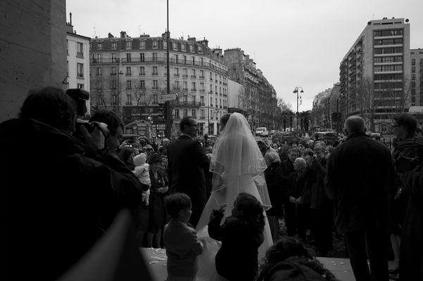 Un mariage à Saint Pierre de Montrouge...