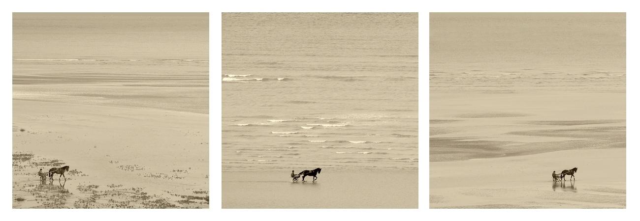 un matin à la plage