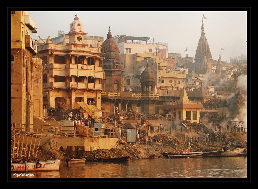 Un matin à Varanasi...