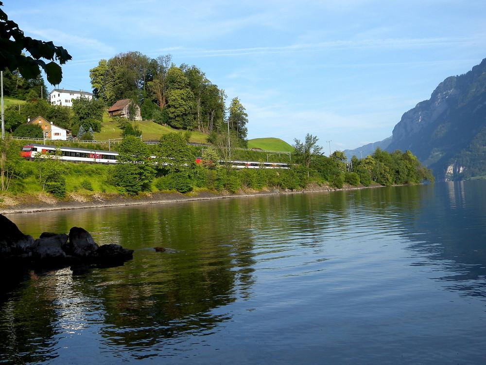 Un matin au lac de Walensee..01