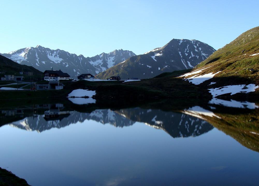 Un matin sur le col d'Oberalp..02