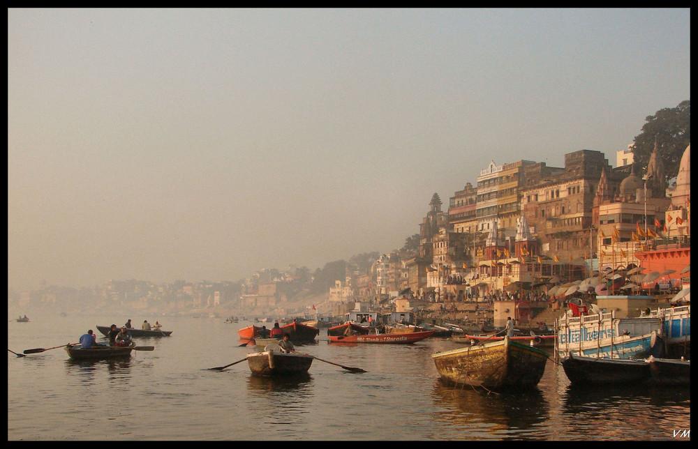 Un matin sur le Gange...