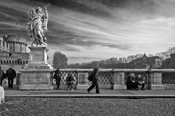 Un mattino di gennaio a Roma