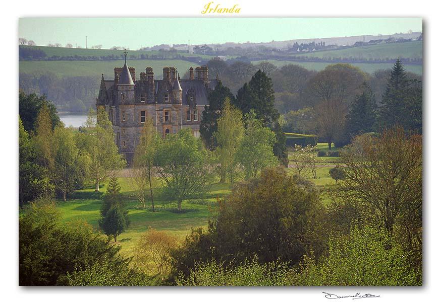Un meraviglioso castello nell'Irlanda del Nord