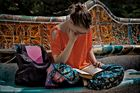 Un momento de lectura.