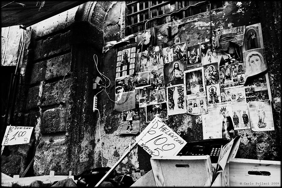 Un muro di Ballarò (a Mattia Sacco)