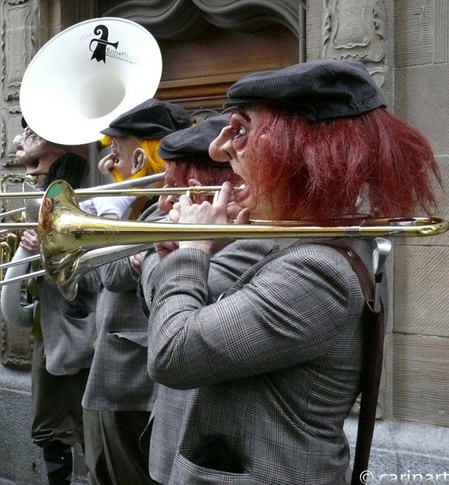 Un orchestre de jazz particulier