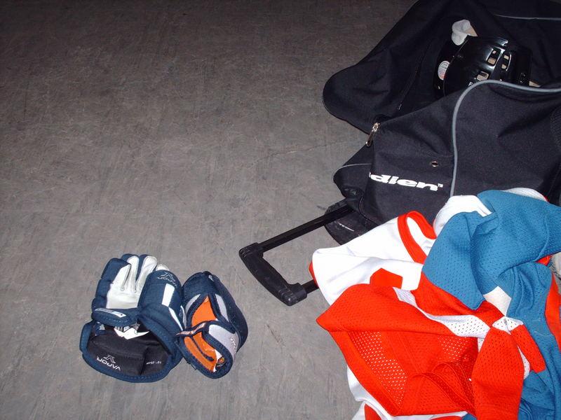 Un Partie De Hockey..?