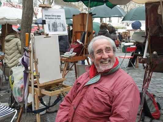 un peintre de Montmartre