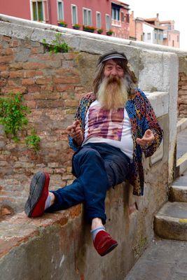 Un personaggio originale a Chioggia