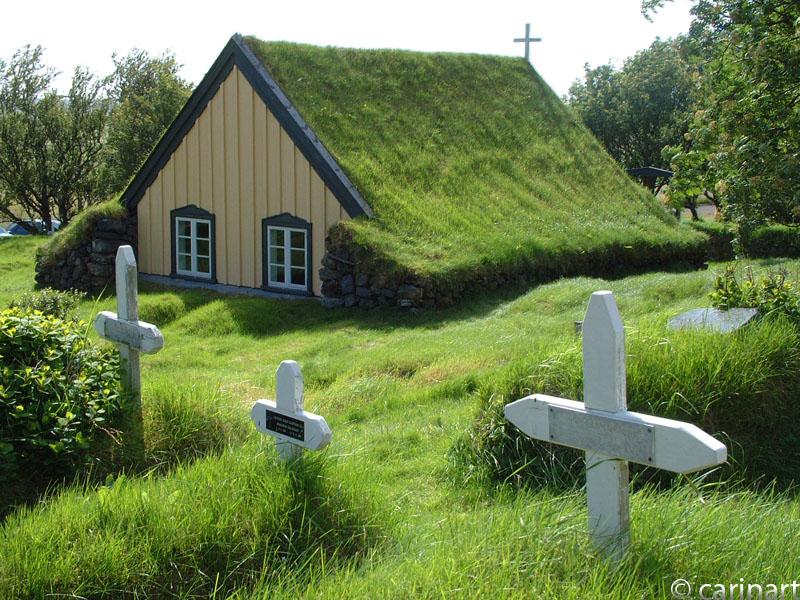 Un petit cimetière perdu