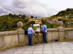 un pintor