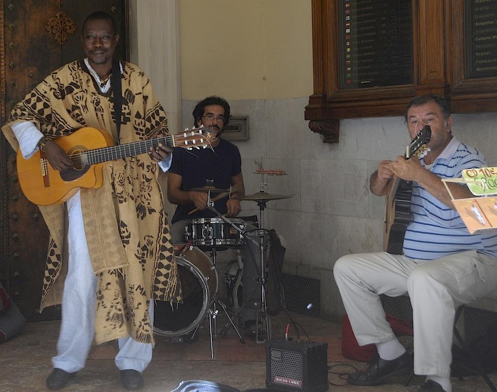 un poco de música en Sant Miquel