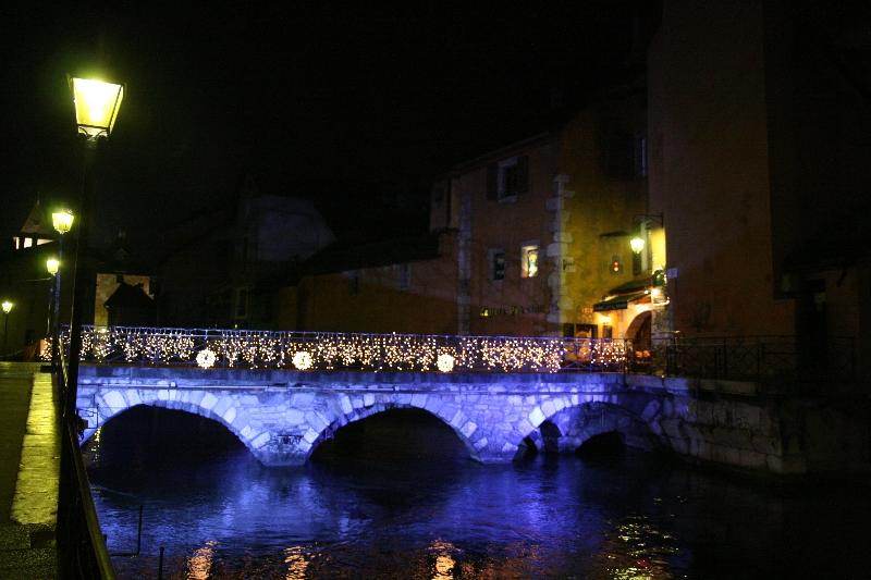 Un pont à Annecy