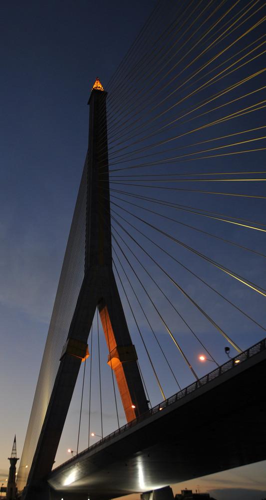 Un pont à BANGKOK.