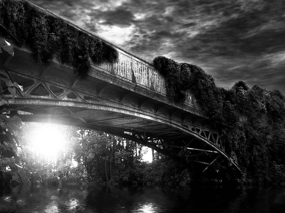 un pont oublie du temps...