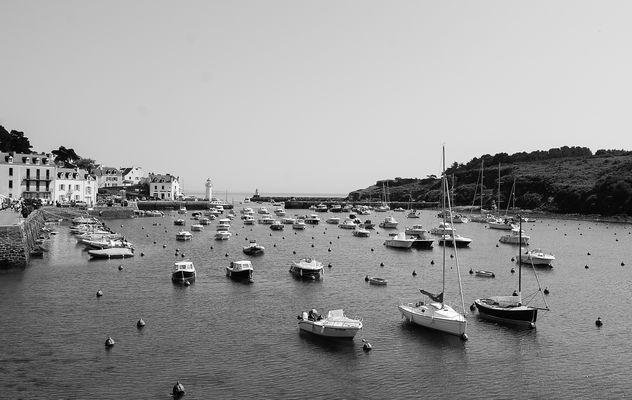Un port en Bretagne