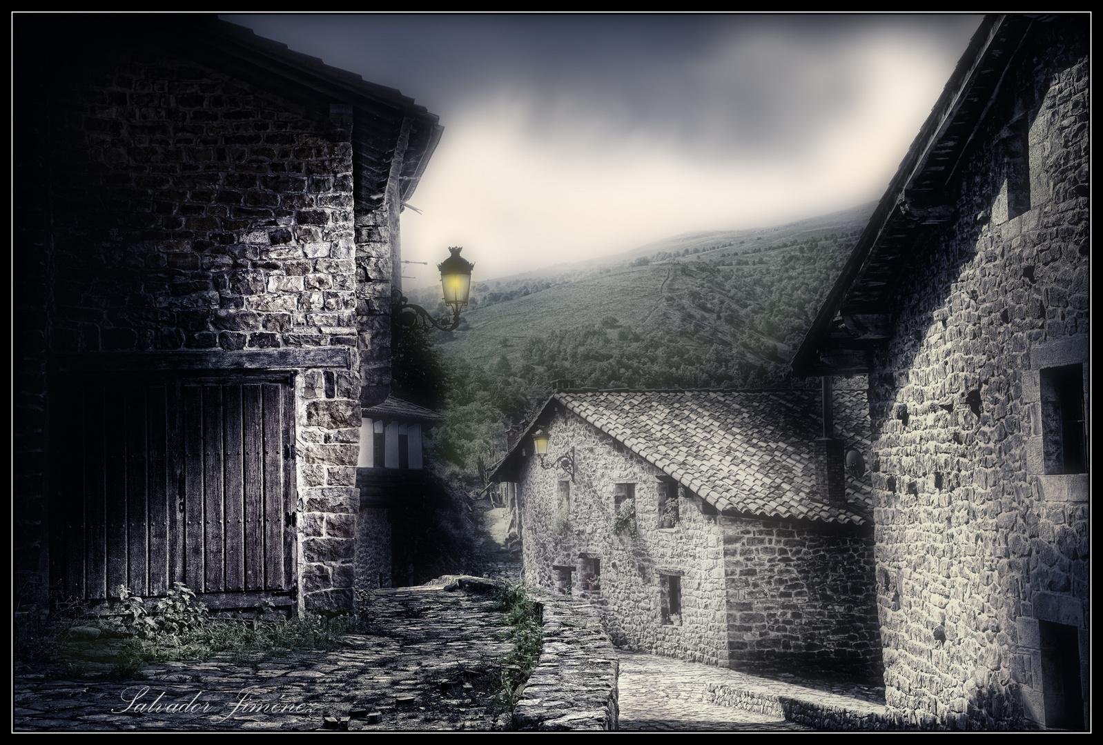 Un pueblo de montaña
