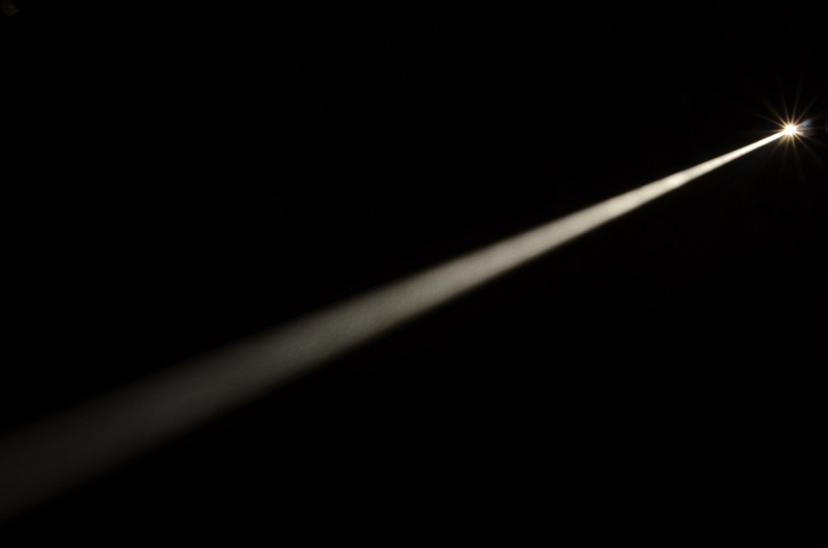 Un rayo de luz.