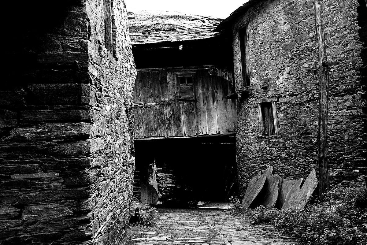 Un ricón de la aldea