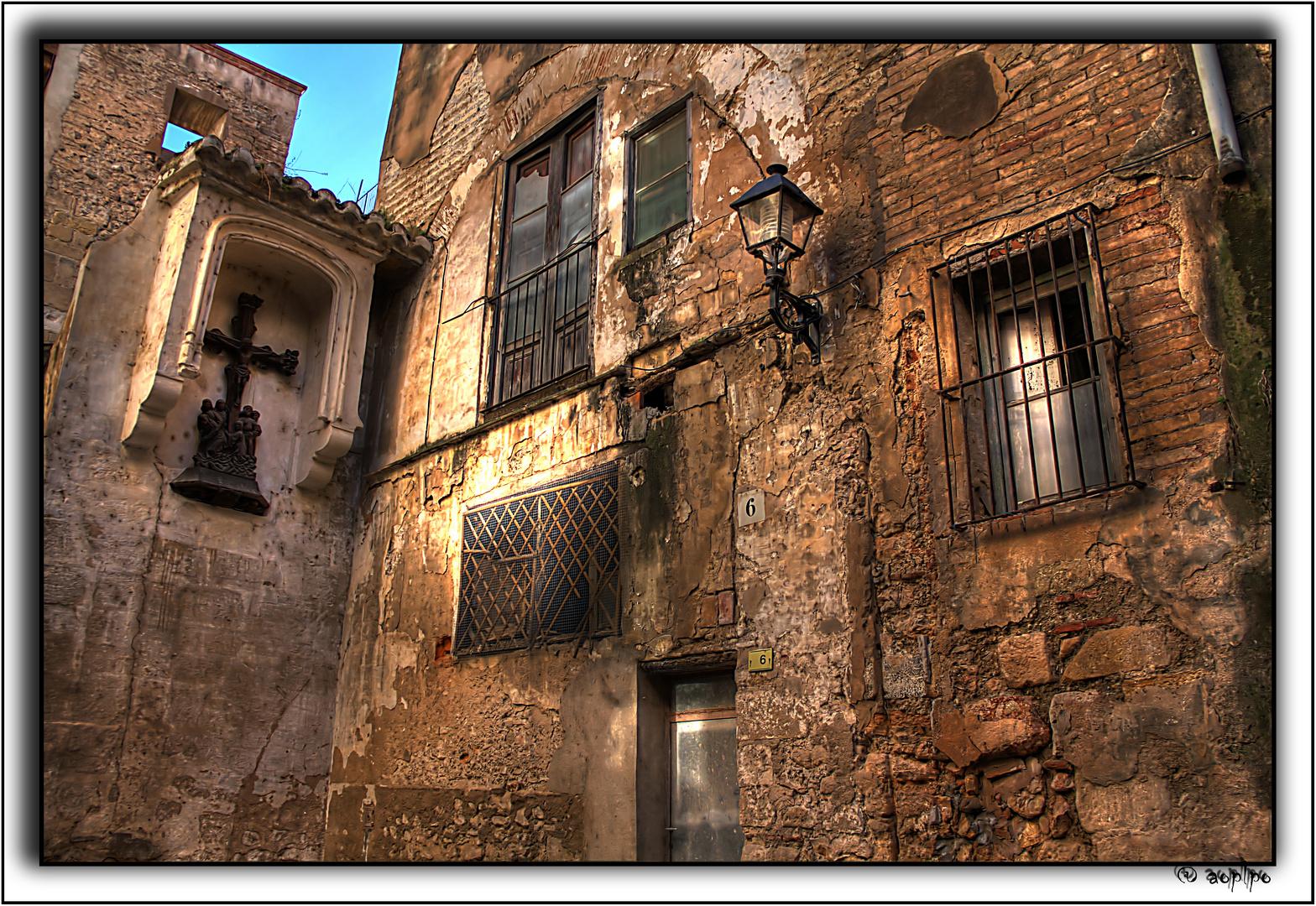 Un rincón cerca de la Catedral de Tortosa
