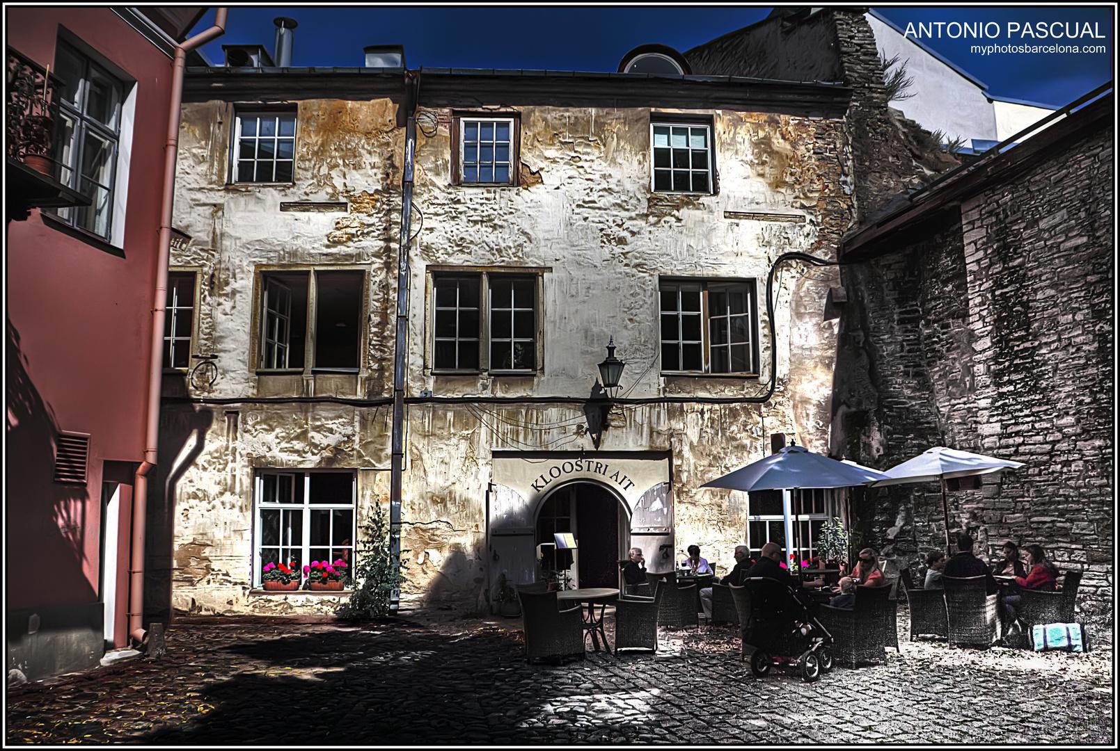 Un rincón de Tallín (Estonia)