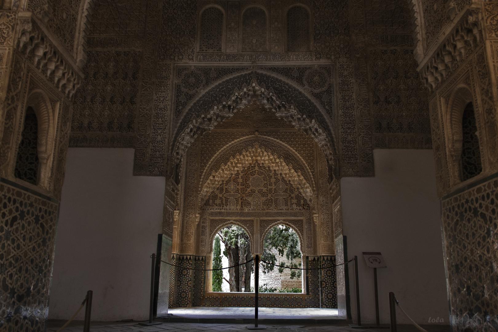 Un rinconcito de la Alhambra