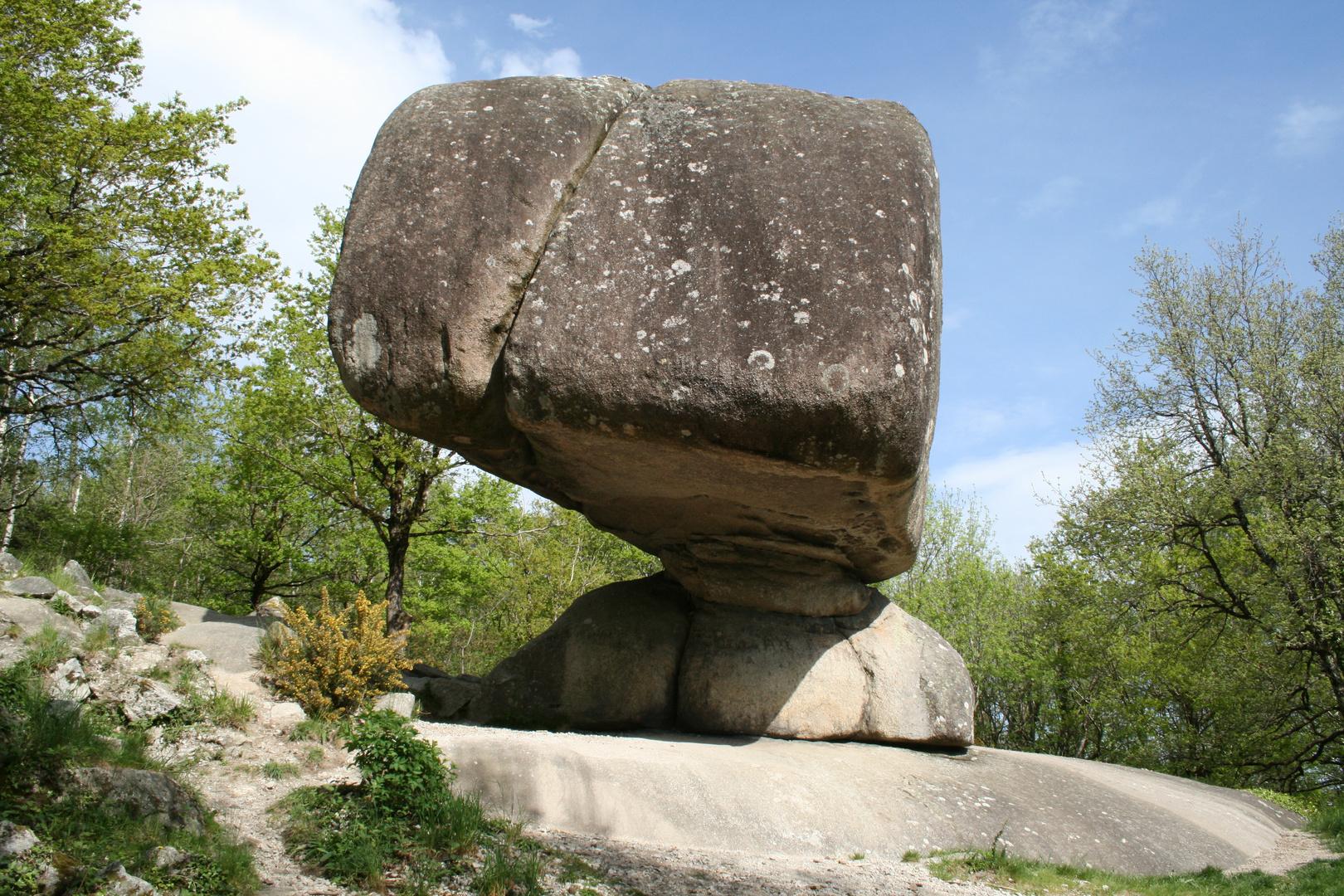 Un rocher pas comme les autres